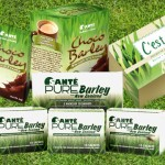 sante green barley products