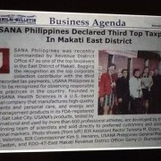 usana philippines declared 3rd top taxpayer 2013