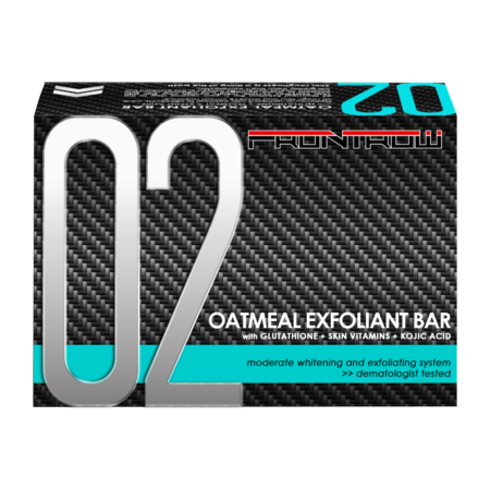 frontrow 02 oatmeal exfoliant bar soap