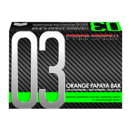 frontrow 03 orange papaya bar soap